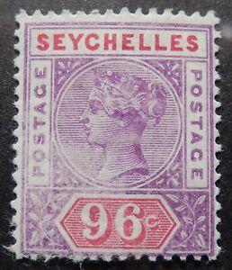 Seychelles Scott # 18, Mint Disturbed (Partial) Original Gum