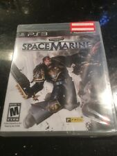 WARHAMMER 40,000: SPACE MARINE Sony Ps3 PlayStation 3 New Sealed