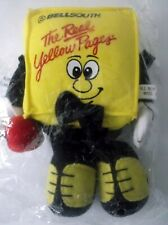 Bellsouth The Real Yellow Pages Beanbag Plush Promotional Advertisement