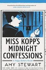 MISS KOPP'S MIDNIGHT CONFESSIONS - STEWART, AMY - NEW PAPERBACK