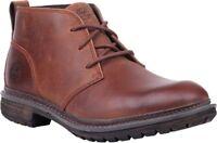 Men's Timberland Logan Bay PT Chukka Boots Brown Leather A1R1U