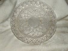 Lovely Antique 1830+ EAPG Boston & Sandwich Lacy Shallow Bowl or Service Plate