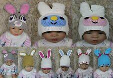Wholesale Lot 10 Knit Cotton Newborn Baby Child Rabbit Bunny Hat Photo Prop Hats