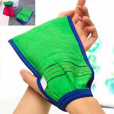 Shower Bath Glove Exfoliating Wash Skin Spa Massage Scrub Body Scrubber Gloves