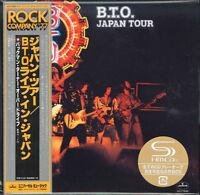 BACHMAN-TURNER OVERDRIVE-B.T.O. JAPAN TOUR-JAPAN MINI LP SHM-CD G00