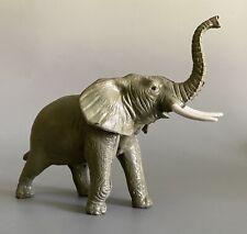 "Vintage AAA Rubber 8"" Elephant Figurine Toy"