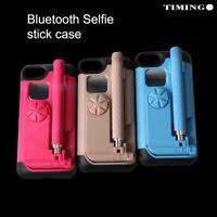 Selfie Stick Bluetooth Handy Hülle für iPhone 7 7Plus 8 8Plus mit Auslöser