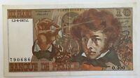 Billet De Banque 10 Francs Berlioz Du 2-6-1977 O.300 790686 0 Épinglage