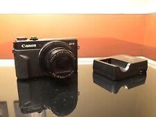 Canon PowerShot G7X Mark II 20.1 MP Compact Digital Camera - Black