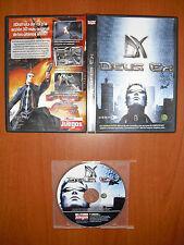 Deus Ex 1 [PC CD-ROM] ION STORM, Revista Computer Hoy Juegos, Versión Española