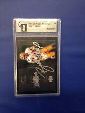 2003 Brett Favre Upper Deck Pros & Prospects Auto Autograph Card #33 Packers