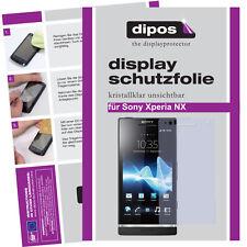 2x Sony Xperia NX Schutzfolie klar Displayschutzfolie Folie unsichtbar Passgenau