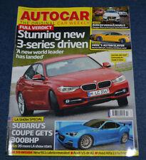 Autocar Cars, 2000s Magazines