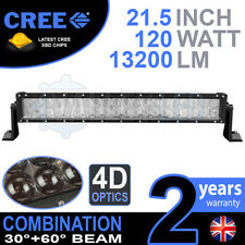 "4D 22 INCH 22"" 120W CREE LED LIGHT BAR DEFENDER NEVARA JEEP L200 HILUX DISCOVERY"