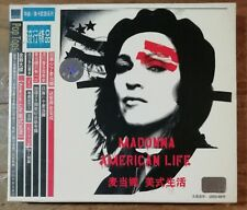 Madonna American Life Chinese Enhanced CD Meika MKCD-T1908 With Card Slip Case