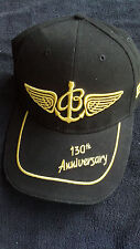 BREITLING 130 ANNIVERSARY ISSUE HAT BLACK & GOLD