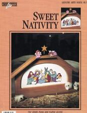 Sweet Nativity Counted Cross Stitch Pattern Leisure Arts Lites 83031 Christmas