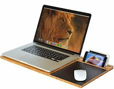 Lap Desk Stand Wood Holder Student LapDesk Slate Laptop Cooling Mouse Pad Mobile