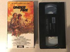 Under Fire (VHS,1984) Nick Nolte, Gene Hackman, Joanna Cassidy
