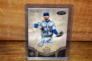 2019 Topps Tier One Jeff McNeil Autograph Signed Rookie RC #243/250