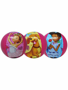 """Girls Fancy Nancy Frenchy Bree Inflatable Beach Ball 13.5"""" 3-PACK"""