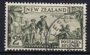 NEW ZEALAND 1935 2s Cpt. Cook VFU (0531i)