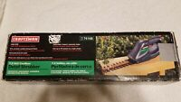 """Craftsman 7.2 Volt Cordless Detail Shrubber 6"""" Blade With Wall Charger"""