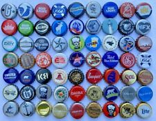 50 {{Unique, Assorted}} [Beer Bottle Caps], Cool Colors, Great Value, Fast Ship!