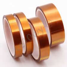 1 Roll 30mm X 10 Meter Temperature Kapton Resistant Polyimide Double Sided Tape