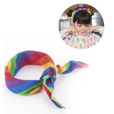 1Pc Rainbow Bandanas Headband Gay Pride Face Mask Neck Scarf Headwear 50x50cm
