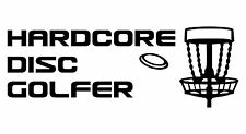 Disc Golf Vinyl Sticker Decal Hardcore Dg