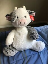 "Aurora World Sweet and Softer Clementine Cow 12"" Plush Stuffed Animal"