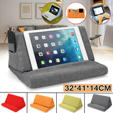 Foldable Tablet Pillow Holder Stand Book Rest Reading Support Cushion For iPad