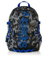 New Mens Superdry Camo Mesh Backpack Grey