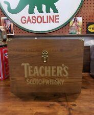 TEACHERS SCOTCH WHISKEY DISPLAY TRUNK
