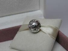 New Pandora Globe Sterling Silver Charm Clip w/BOX & FREE Grommet #791182