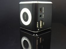 New Angel Alu Bluetooth altavoz mini nuevo embalaje original música speaker Box LED inalámbrica