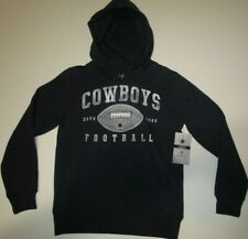 New with tags DALLAS COWBOYS NFL Football Navy Blue HOODIE Youth Medium (10-12)