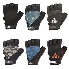 Adidas Half Finger Performance Weight Lifting Gloves Mens Training Gym Workout