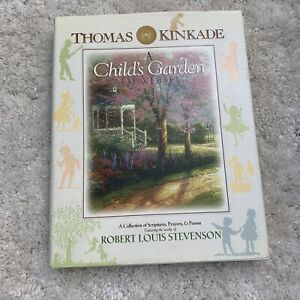 Best Child's  BOOK A Child's Garden OF VERSES and Thomas Kinkade prayers poems