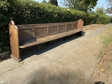 Large Church pew / Monks Bench / Settle Heavy Duty Seating