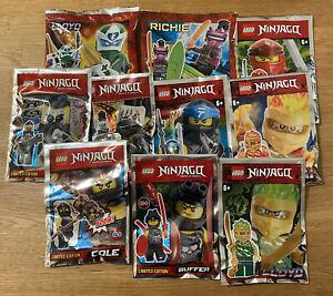 LEGO Ninjago - 10 x Minifiguren - Neu & OVP