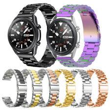 Para Samsung Galaxy 41mm Active Reloj 3 2 40 44 Banda Acero Inoxidable Reloj Correa