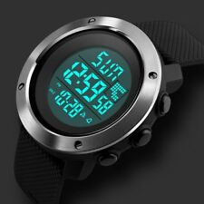 Fashion Digital Men's Sport Military Army LED Date Waterproof Quartz Wrist Watch