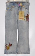 The Childrens Place 1989 Toddler Girls Adjustable Waist Fairy Denim Jeans 4T NWT