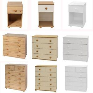 Chest of Draws Bedroom Furniture Set Hallway Storage Cabinet Drawers Cambridge