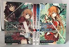 Sword Art Online Progressive (Vol. 1-4) English Manga Graphic Novels SET lot New