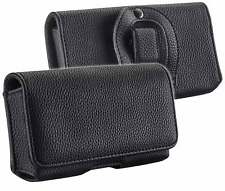 Uni Design Quertasche für Huawei P20 Lite Tasche Etui hülle Case schwarz
