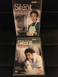 Silent Witness - BOX SET - DVDS - SERIES 1 & 2 - BRAND NEW - NOT SEALED