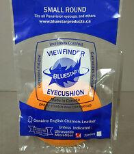 New Small Round Microfiber ORANGE Eyepiece Eye Cushion Viewfinder Eyecushion